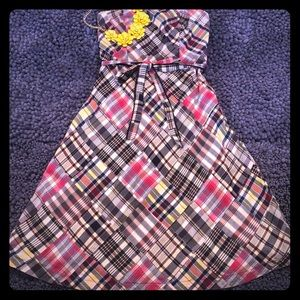 American Eagle Outfitters madras dress